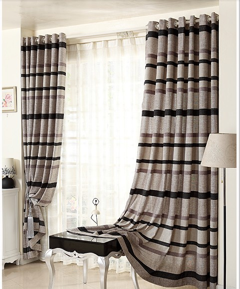 Modern Bedroom Curtains custom curtain of sitting room high grade cotton modern bedroom