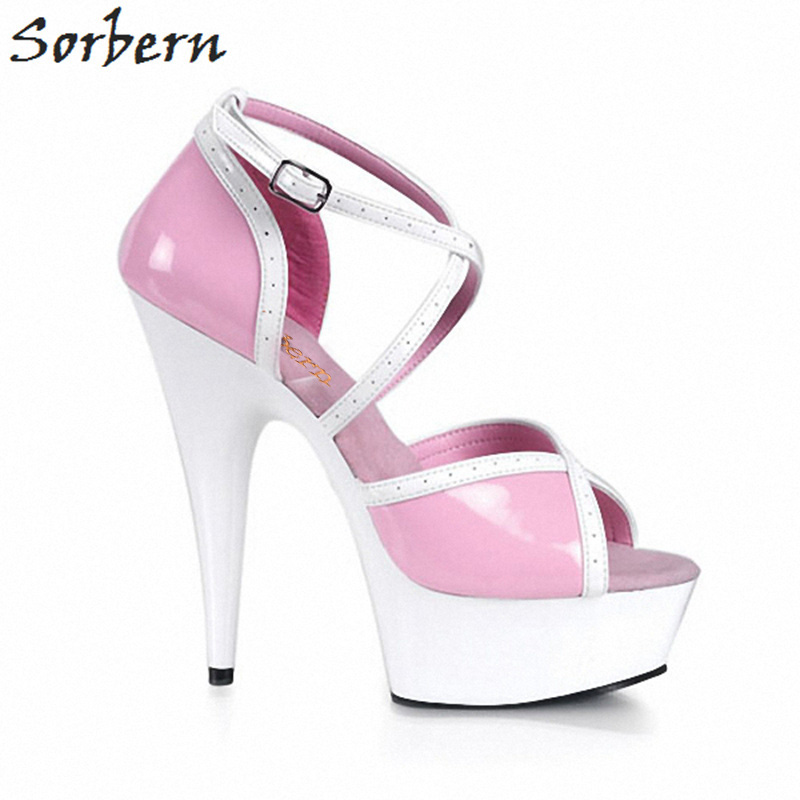 Sorbern Mixed Colors Sandals Elegant Shoes Women Designers Women High Heels With Ankle Strap Small Heels Shoes Summer SandaliasSorbern Mixed Colors Sandals Elegant Shoes Women Designers Women High Heels With Ankle Strap Small Heels Shoes Summer Sandalias