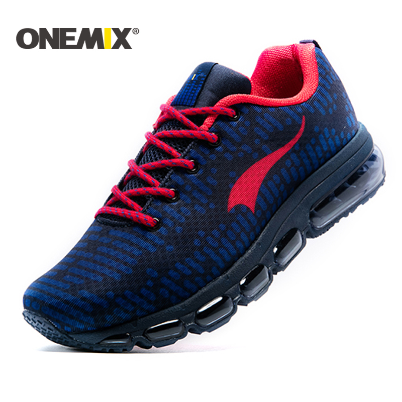 Onemix New Running Shoes men or women Outdoor Sport shoes air cushion sneaker zapatos hombre trekking shoes Free Shipping onemix unisex runner sneaker original zapatos de hombre 2017 new women athletic outdoor sport shoes men running shoes size 36 46