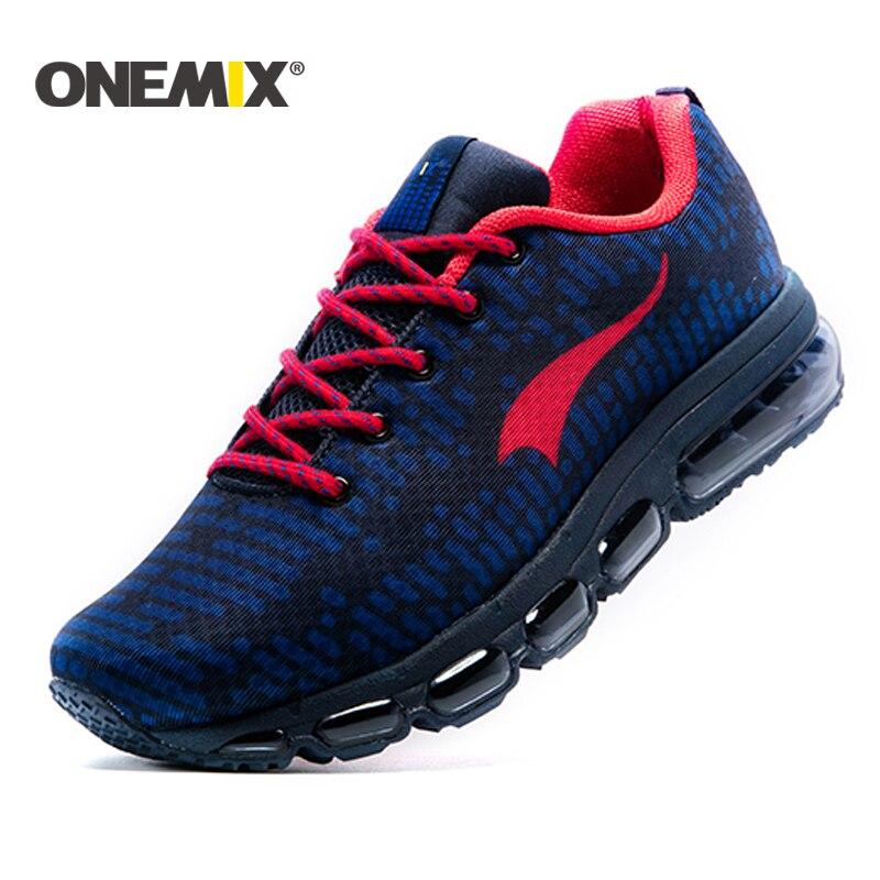 Onemix nuevos zapatos corrientes hombres o mujeres al aire libre Deporte  zapatos de cojín de aire Zapatillas zapatos hombre zapatos de trekking  envío libre 4e1319efbea