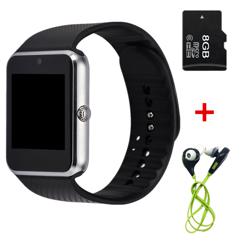 font b 2017 b font Newest GT08 Smart Watch Clock with Sim Card and Camera