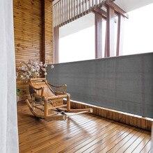 Домашний Балконный экран с люверсами для защиты от солнца, защита от ветра и детей# L