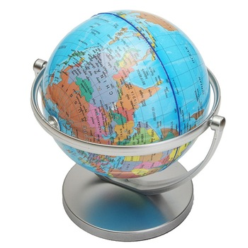 Kiwarm modern english geography world globe rotating world map kiwarm modern english geography world globe rotating world map ornaments for home office decor craft gift for friend 18cm gumiabroncs Choice Image