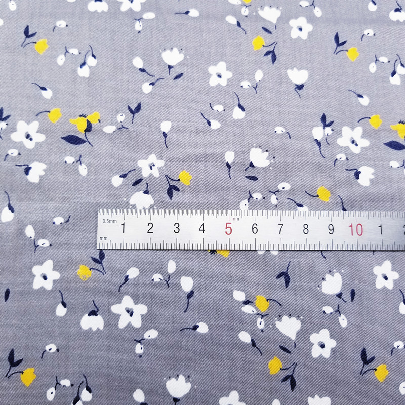 50x40cm Flower Series Cotton fabric DIY sewing uphostery craft for Baby&Children Quilting Sheets Dress Material 8