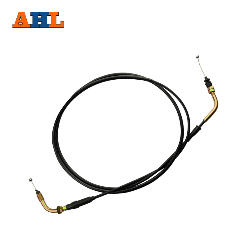 AHL Brand New Motorcycle Accessories Throttle Line Cable throttle gas acceleration cable For HONDA KS4 CN250 SCOOTER new original throttle r412010569