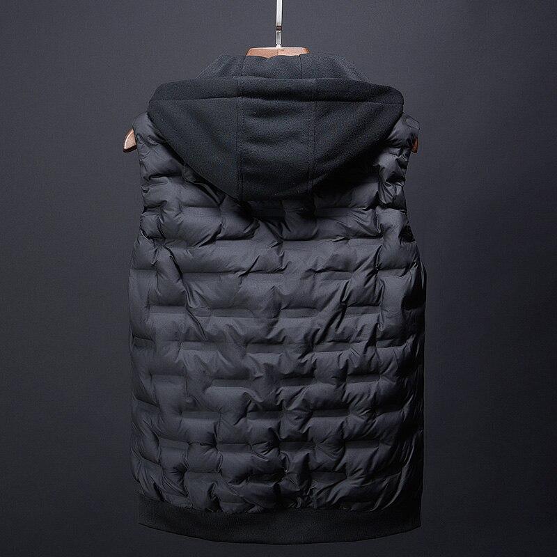 fashion men\`s clothing korean men down jacket coats winter warm vests designer male casual suits dress boys canada vest for men (2)