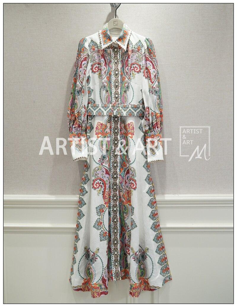 Nuovo 19 zingara BOHO vento con il disegno e il colore del vestito spaccato-in Completi da donna da Abbigliamento da donna su  Gruppo 1