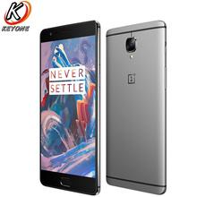 "Original new Oneplus 3 A3000 Mobile Phone 5.5"" 6GB RAM 64GB ROM Snapdragon 820 Quad Core Android 6.0 Fingerprint Smart Phone"