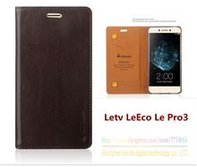 Luxury Top Quality Genuine Leather Stand Fashion Book Style Phone Bag Case For Letv LeEco Le Pro 3 Pro3 (5.5″) Flip Cover