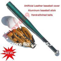 1 set libèrent le bateau enfants gants + baseball + En alliage D'aluminium baseball bâton