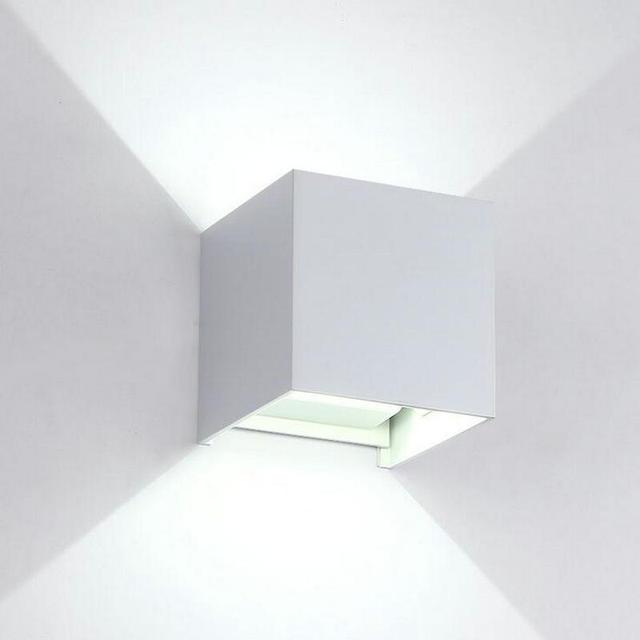 US $58.8 16% di SCONTO|Moderna applique da parete led 10 W COB lampada da  parete decorazione domestica per camera da letto comodino in alluminio wall  ...