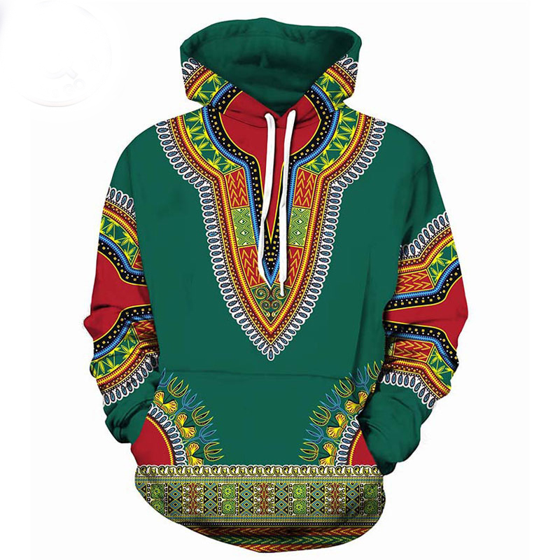 Men Hipster African Print Dashiki Hoodie Sweatshirt Brand New Tribal Ethnic 3D Hoodies Sweatshirts Men Women Hoody Pullover