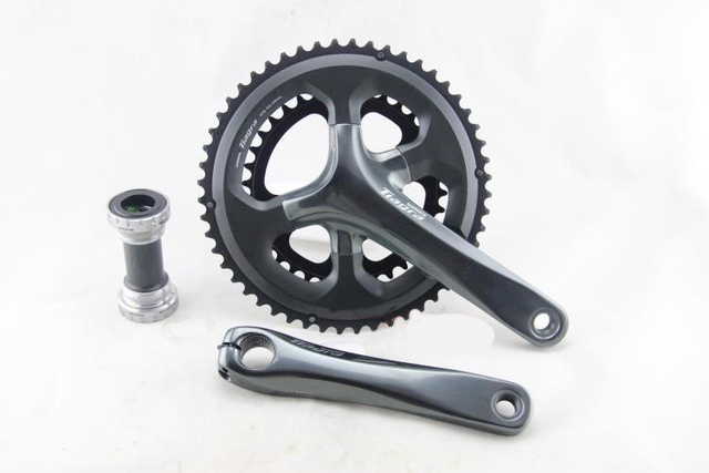 US $71 09 10% OFF|Shimano Tiagra 4700 10 Speed 50 34T 52 36T 165mm 170mm  Crankset with BB RS500 Bottom Bracket-in Bicycle Crank & Chainwheel from