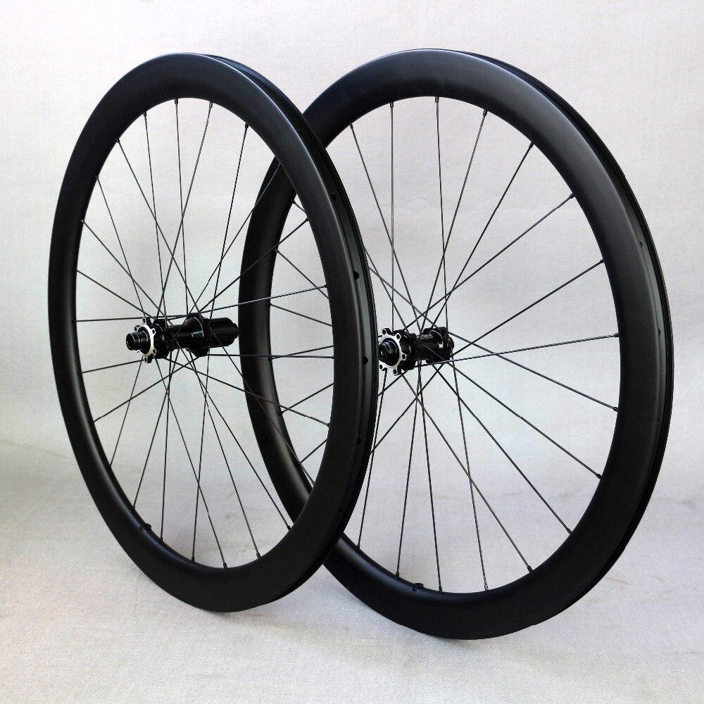 Roulement d'enduro de moyeu de FASTACE de roue de frein à disque de carbone, jantes de carbone 48mm profondément 25mm de large avec UCI examiné