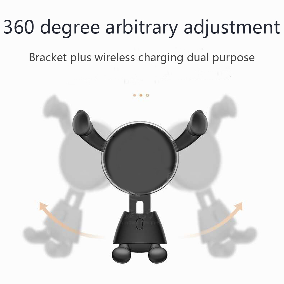 10W Qi Wireless Charger for iPhone XXS Max XR 8 Plus Visible Element Wireless Charging pad for Samsung S9 S10+ Note 9 8666774434