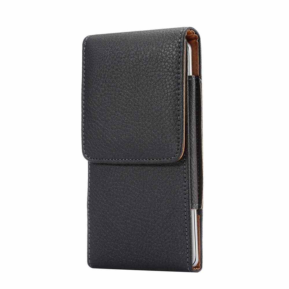 cheap for discount 17e03 3c7cb Universal Leather Phone Bag For Samsung iphone Opening Holster Cover Pocket  Wallet Pouch Case Fit For LG HTC All Phone Model