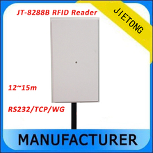 TCP/IP long range reader Rfid UHF passive 12-15M +free tags card Reader RJ45