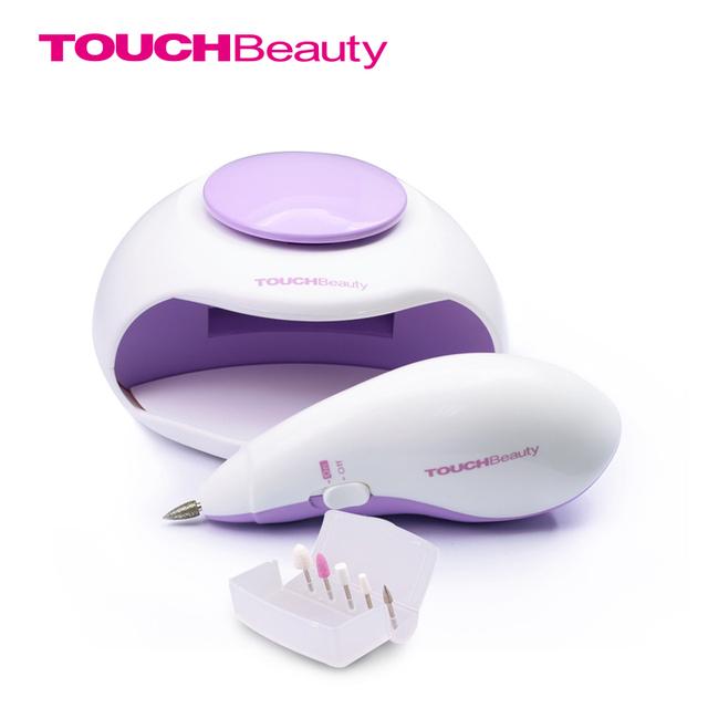 Touchbeauty secador de uñas uñas de manicura y pedicura profesional sets nail art equipo tb-1002