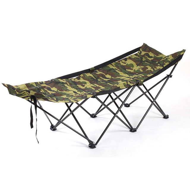 Metal Folding Chaise Lounge Chair Patio Outdoor Pool Beach Lawn