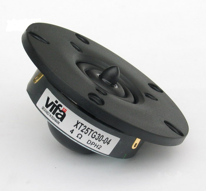 2 шт. оригинальный Vifa XT25TG30-04 купольный твитер Динамик пара 4ohm 100 Вт Dia104mm пара цена
