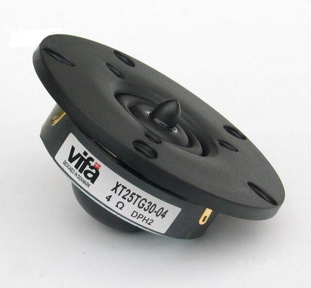 2 قطعة الأصلي Vifa XT25TG30 04 قبة مكبر الصوت زوج 4 أوم 100 واط Dia104mm زوج السعر