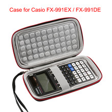 LuckyNV Hard EVA Storage Box Carrying Travel Bag Case for Casio FX-991EX / FX-991DE Scientific Calculator And More(Case Only)(China)
