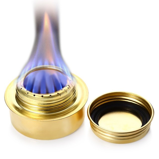 Portable Alcohol Copper Stove Alloy Mini Ultra-light Spirit Burner Outdoor Camping Pinnic Roast Food Burn Cook Stove Furnace