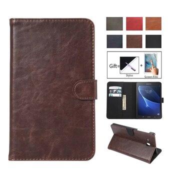 Роскошный модный Чехол-книжка из искусственной кожи с подставкой для Samsung Tab A A6 7,0, чехол для Samsung Galaxy Tab A 7,0, T280, T285, SM-T285