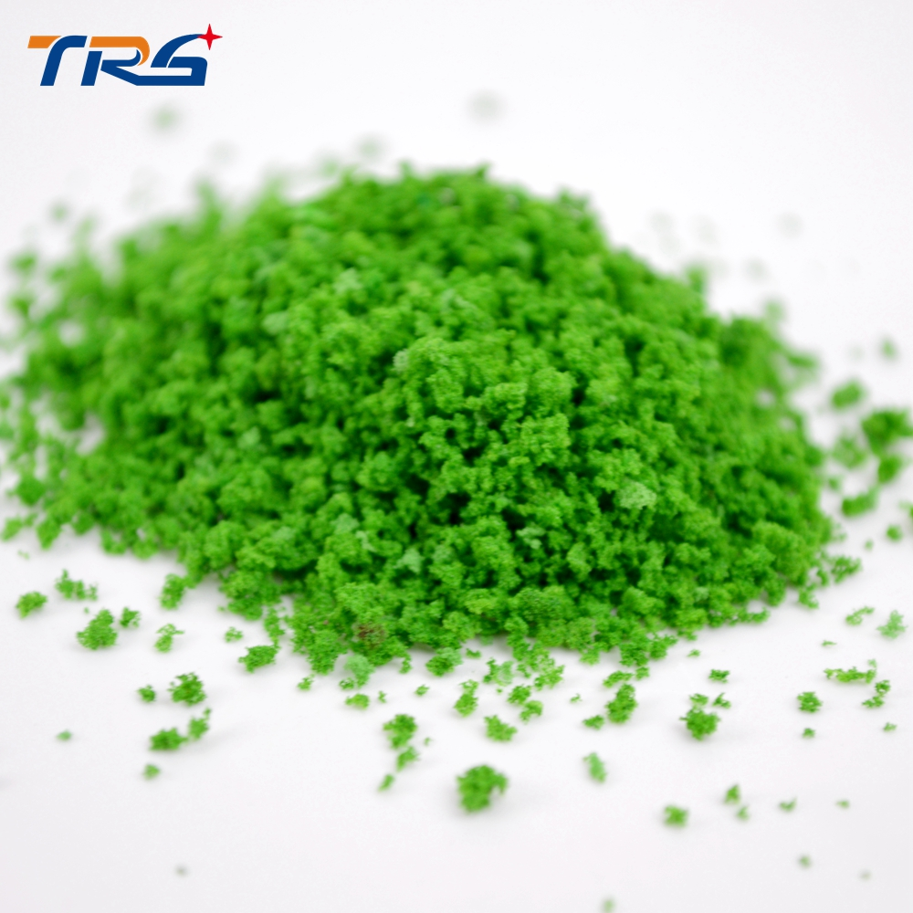 middle green color tree powder for model making trees architecture ...