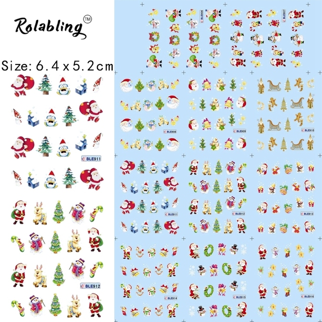 picture about Printable Christmas Stickers titled US $1.14 50% OFFHot Sale Western Pageant Sequence Nail Sticker Xmas Stickers Nails wraps Embossed Sticker Printable Sticker Paper decals-inside