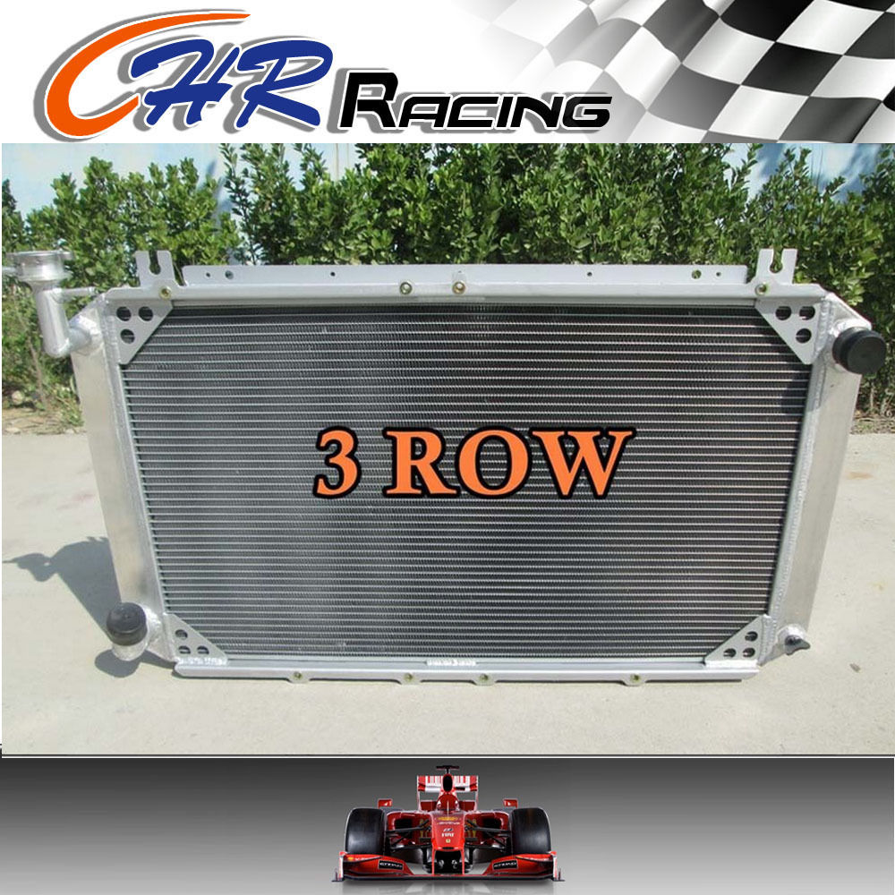 Cooling System Hot Selling 3 Row 52mm Aluminum Radiator For Nissan Y60 Patrol Gq 4.2l Petrol 1987-1997 Mt Oil Coolers
