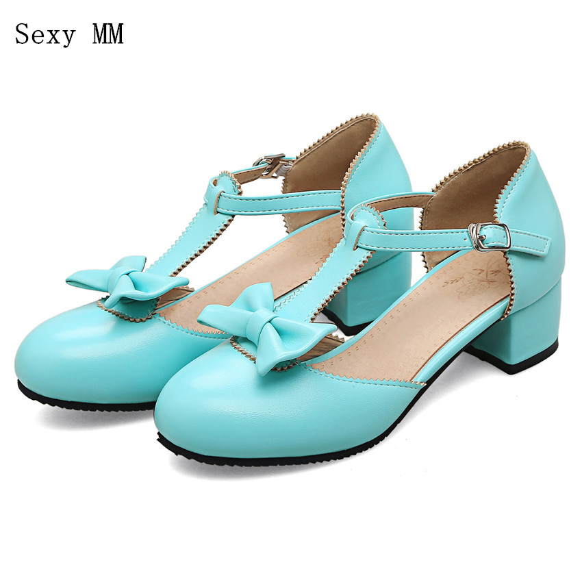 Summer Low Med High Heel Shoes Women Pumps Mary Janes Shoes High Heels Kitten Heels Plus Size 33 - 40 41 42 43 44 45 46 47 48Summer Low Med High Heel Shoes Women Pumps Mary Janes Shoes High Heels Kitten Heels Plus Size 33 - 40 41 42 43 44 45 46 47 48
