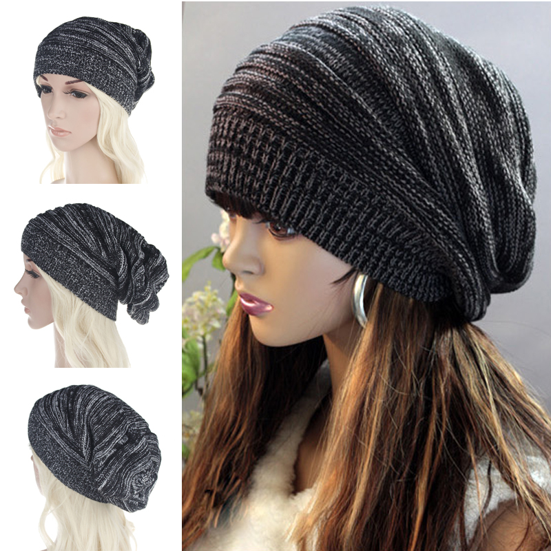 Women Men Winter Warm Knitted Beanies Cap Unisex Casual Stocking Hat mixed  color Hip-Hop Male Female Skullies Beanie Hat Gorros 4052d5efc7be