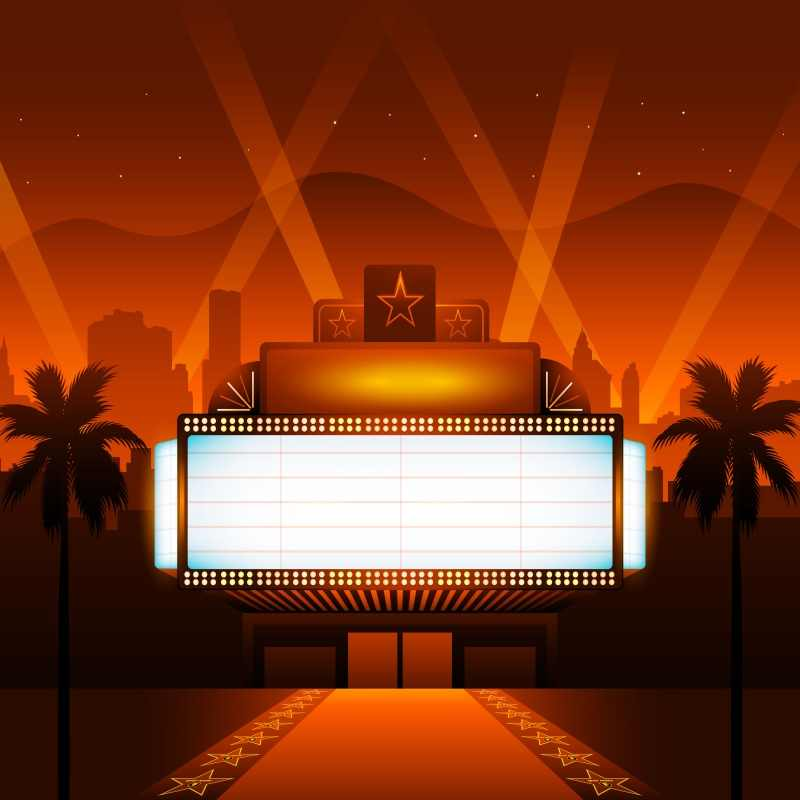 Laeacco Stage Backdrops Baby Cartoon Red Carpet Screen Palms Tree City House Star Photogrpahy Backgrounds Photocall Photo Studio Aliexpress