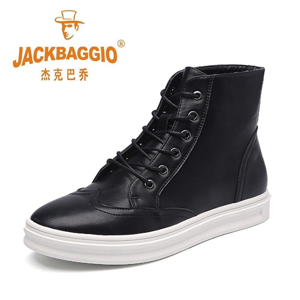 Hot Sale Autumn And Winter New Men's Shoes, Black Men Casual Boot, Comfortable Warm Cotton Shoes. nt00024 5 men s casual warm nubuck cotton sneaker shoes black 44 pair