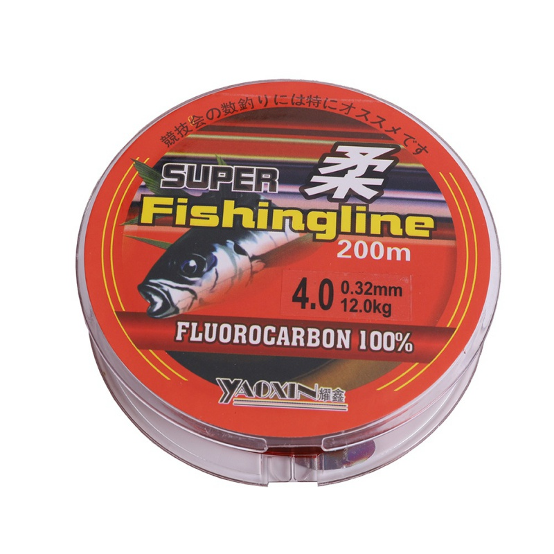 New 200M Fishing tackle accessories nylon fishing line/thread brown pesca competitive fishing shrimp bream high tensile