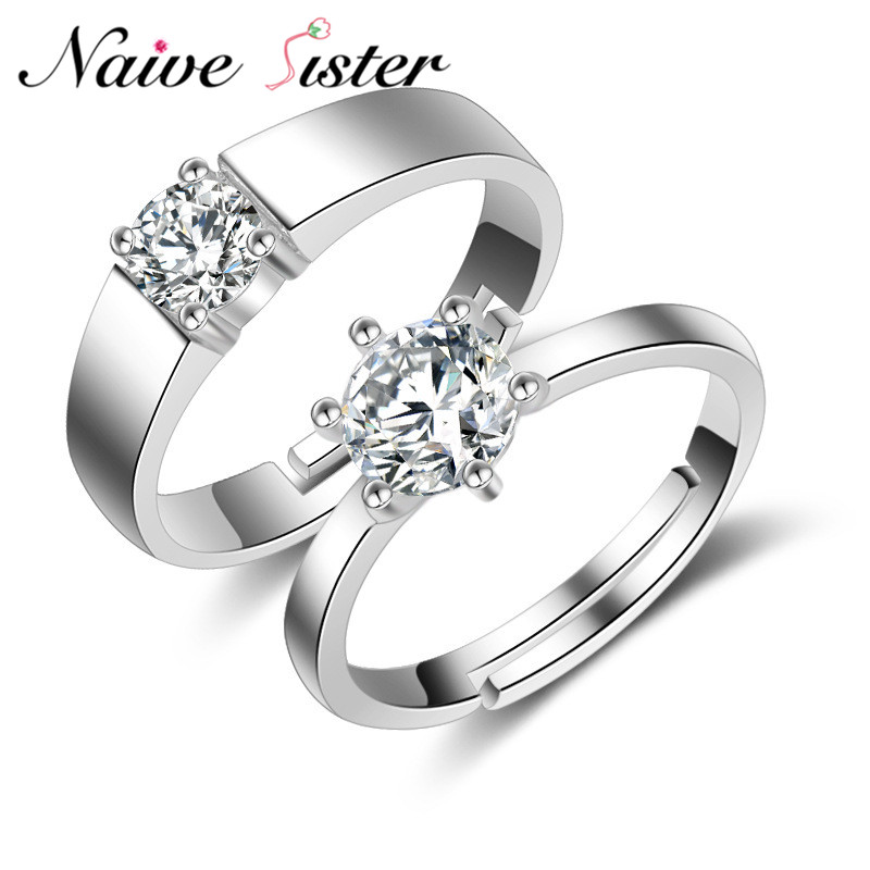 Romantic Bands: His Or Hers Romantic Valentines Day Gift Couples Ring