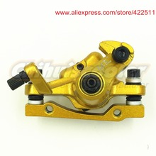 Best price High Quality Gas/Electric Scooter Brake Caliper Golden Electric Bicycle Disc Brake Caliper(Scooter Spare Parts&Accessories)