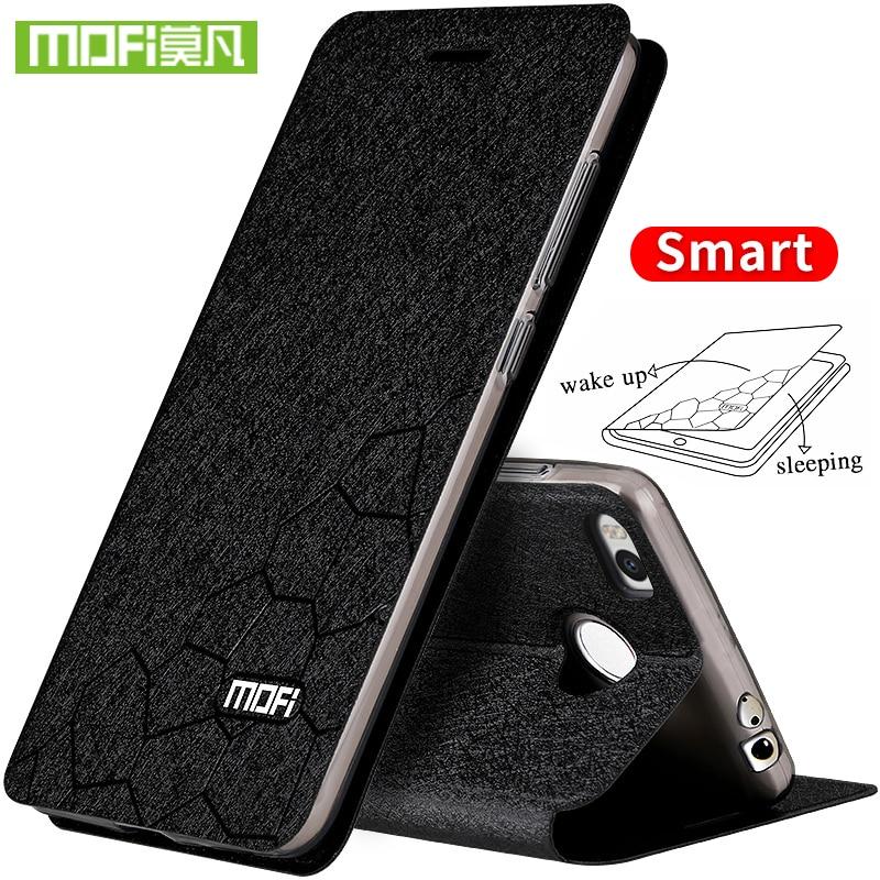 Per Xiaomi Mi Max 2 custodia in pelle flip cover in silicone armatura caso di lusso mofi originale per Xiaomi Mi Max2 coque foundas Xiomi caso
