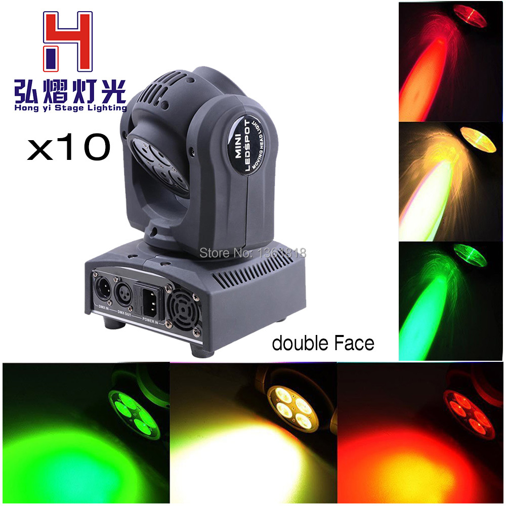 10pcs/lot Double Side 4 *10W rgbw Wash Moving Head Light /Each Face Stage Light10pcs/lot Double Side 4 *10W rgbw Wash Moving Head Light /Each Face Stage Light