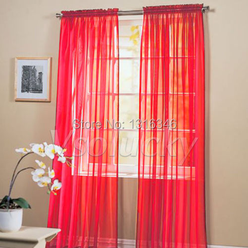 Popular Red Panel Curtains-Buy Cheap Red Panel Curtains lots from ...