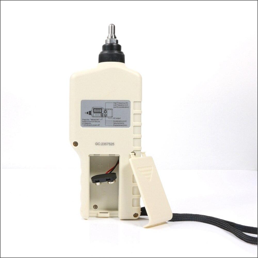 Analyseur De Vibration BENETECH appareil De mesure De Vibration numérique sonde Analizador testeur De Vibraciones portable GM63A vibrateur - 6