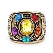 Anillo Thanos Gemas Del Infinito Marvel Avengers: Infinity War Thanos Infinity Gauntlet Power Cosplay