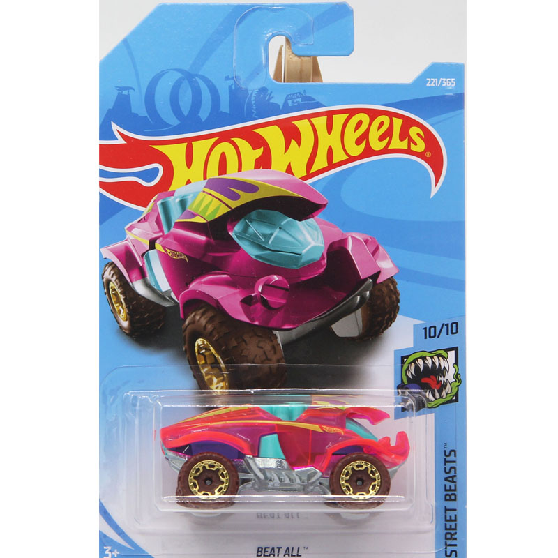 New Arrivals 2018 Hot Wheels 1:64 Beat All Models Collection Kids Toys Vehicle For Children hot cars 221