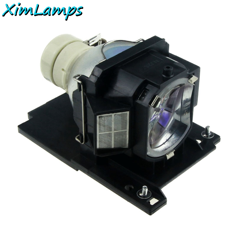 ФОТО DT01026 Replacement Projector Lamp with Housing for Hitachi Projectors Modoul CP-RX78 CP-RX78W CP-RX80 CP-RX80W ED-X24