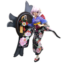 Fate/Grand Order Kimono Matthew Kyrielite Shielder Mash Kyrielight Anime Year Ver Shield Mother Action Figure