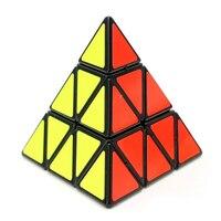 Shengshou Pyraminx Magic Cube Pyramid Cubo Magico Triangle Shape Speed Puzzle Cube Brinquedos Twist Puzzle Learning