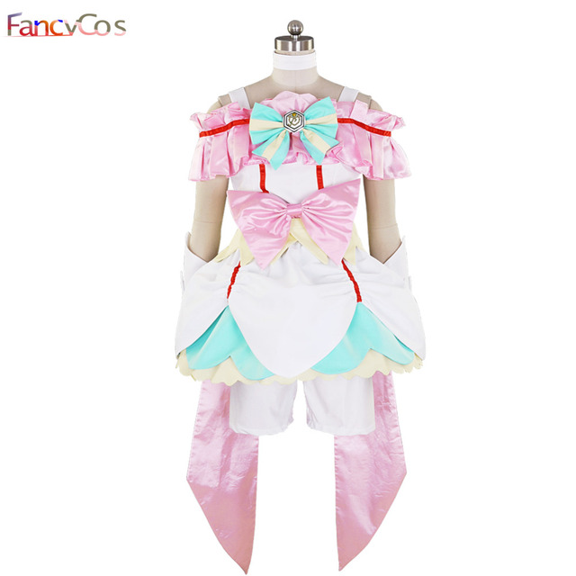 9c1df3f19f29 Pretty Cure All Stars PreCure All Stars Sakagami Ayumi Cure Echo Dress  Costume Cosplay Anime movie costume Custom Made