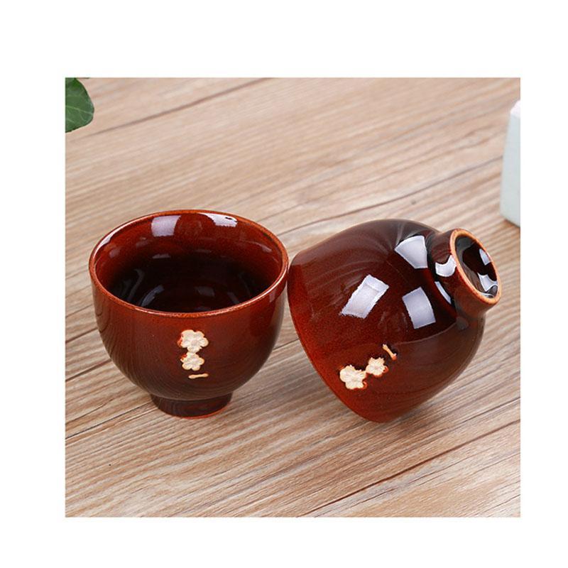 6 pièces thé et thé ensemble cadeau céramique four théière ensemble Kung Fu thé ensemble cuisine porcelaine thé cérémonie ensemble thé pour cadeau de luxe - 3