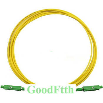 Fiber Optic Patch Cord Jumper Cable MU-MU APC MU/APC-MU/APC SM Simplex GoodFtth 20-50m